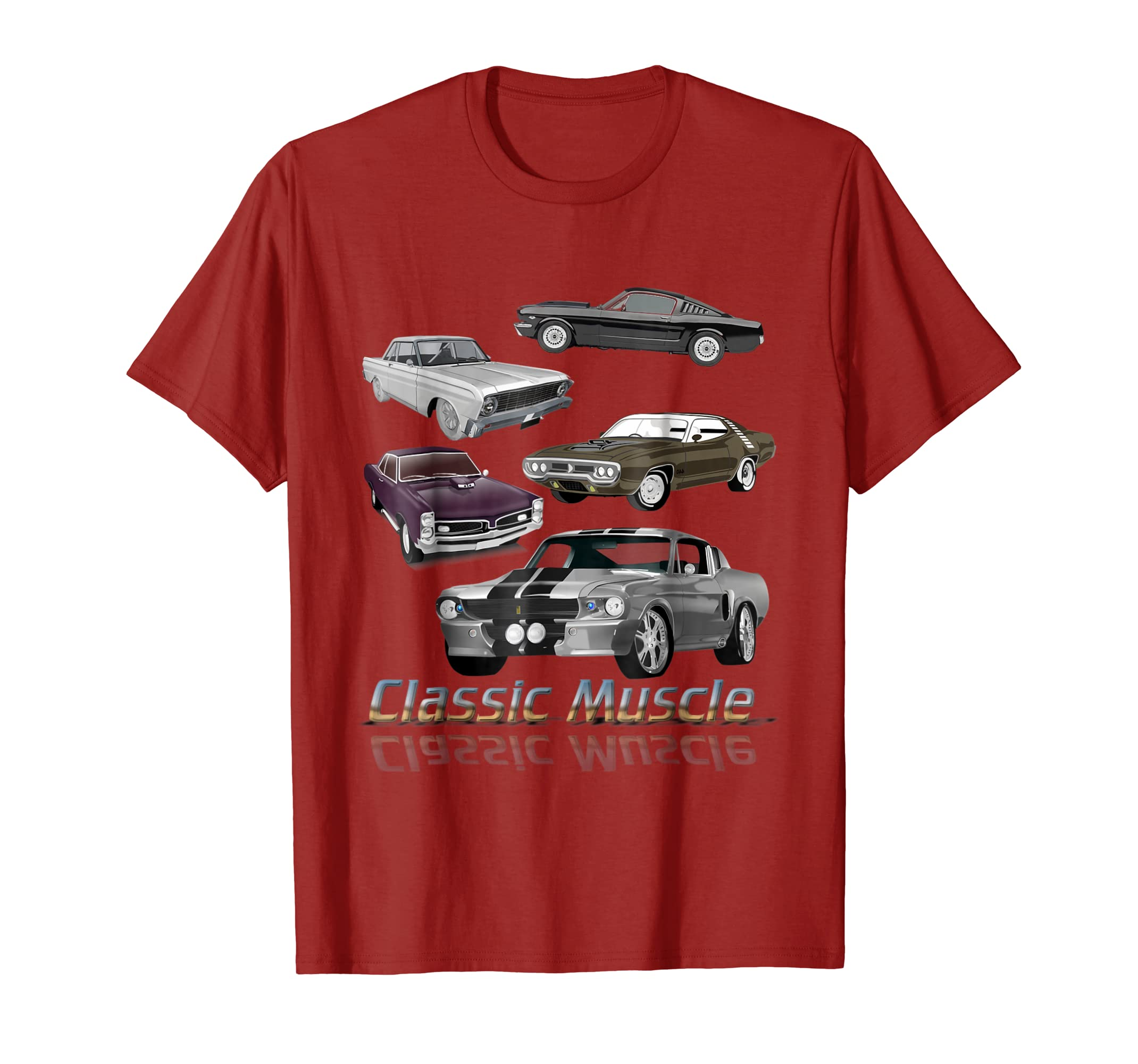ada6912a Classic American Muscle Cars Vintage Gift T shirt-Colonhue – Colonhue.com