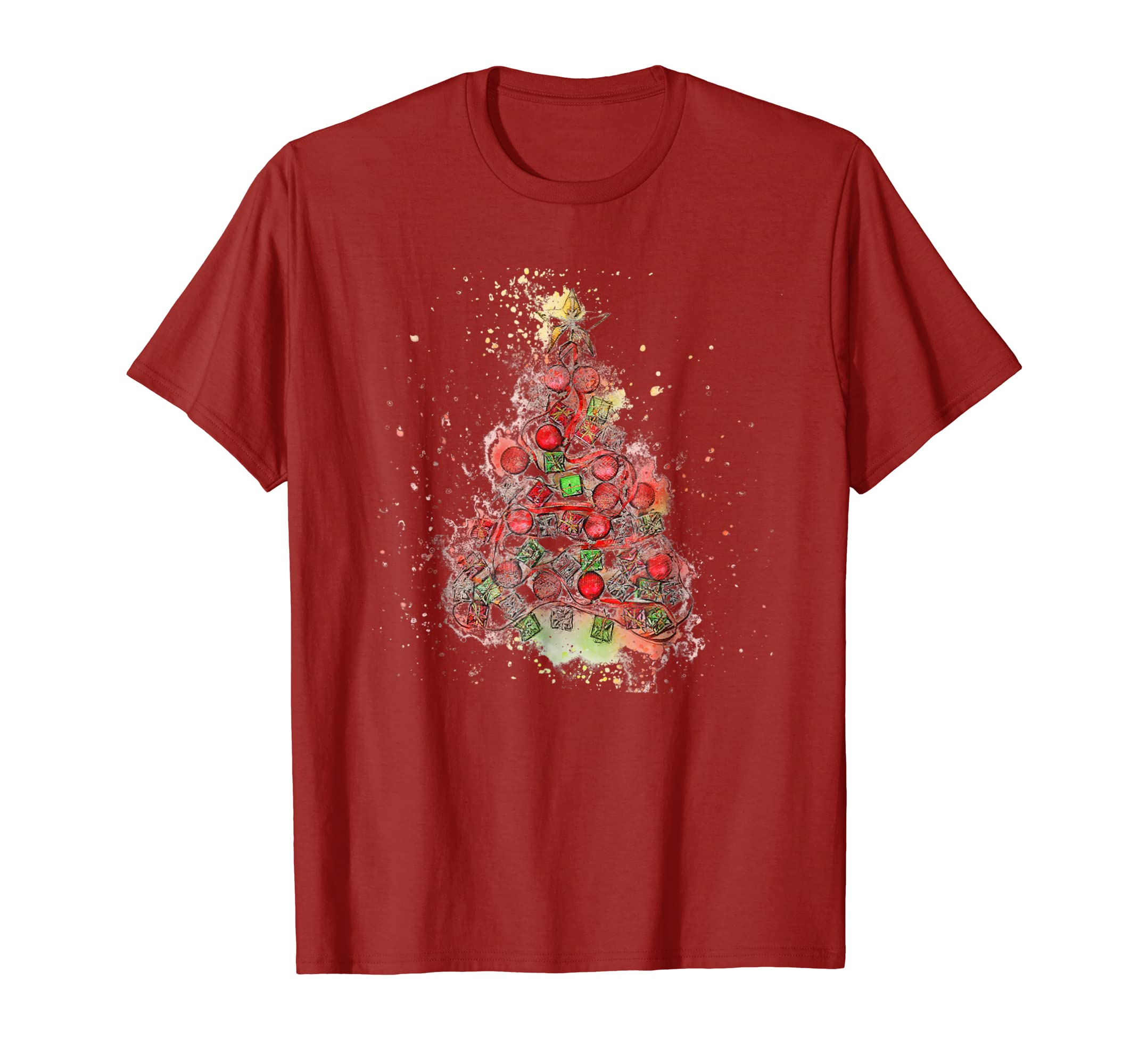 Christmas Tree Holiday Shirt Vintage Design Men Women Kids-azvn