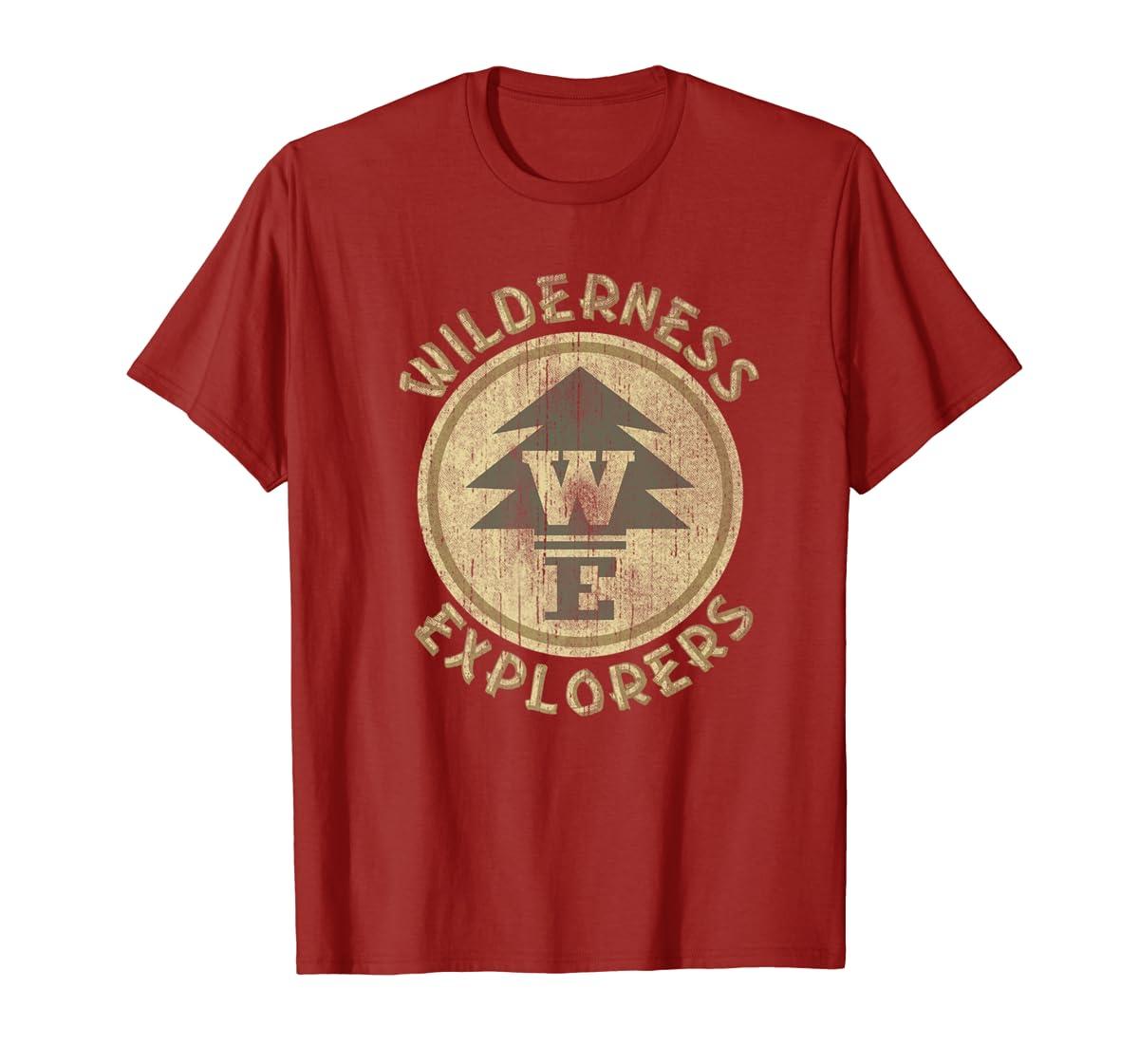 Disney Pixar Up Wilderness Explorer Badge Premium T-Shirt-Men's T-Shirt-Red