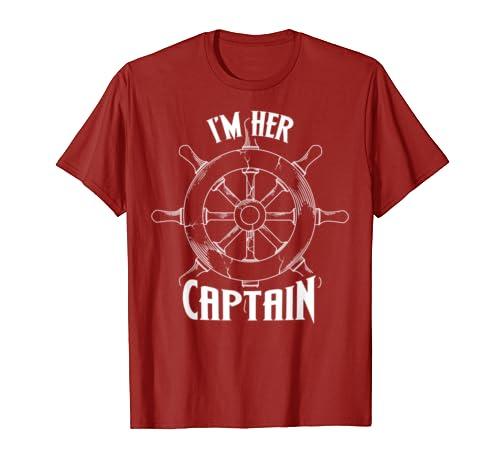 I'm Her Captain Shirt Cool Men Love Valentines Funny Gift