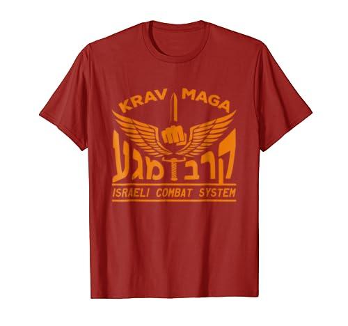 Amazon Krav Maga Logo T Shirt Israeli Combat System Idf Tee
