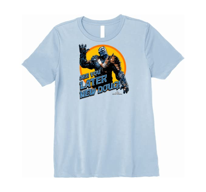 Amazon Com Marvel Thor Ragnarok Korg Later New Doug Premium T Shirt Clothing
