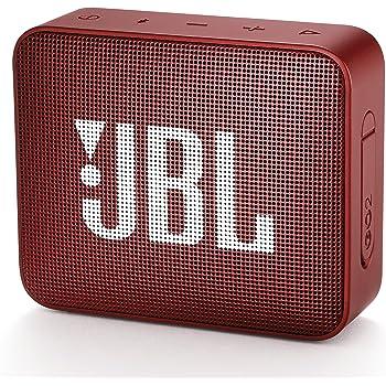 JBL GO2 Bluetoothスピーカー IPX7防水/ポータブル/パッシブラジエーター搭載 レッド JBLGO2RED 【国内正規品/メーカー1年保証付き】