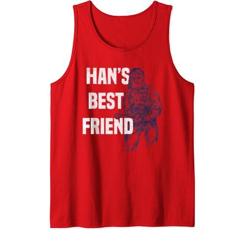 Star Wars Chewbacca Han's Best Friend Tank Top