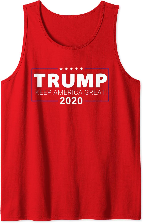 Trump 2020 Keep Weekly update America Top Great Superior Tank MAGA