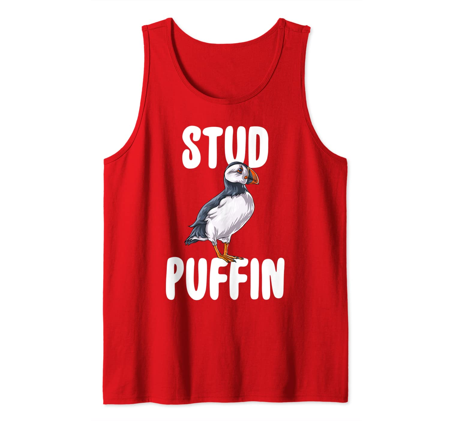 Stud Puffin Bird T-Shirt Funny Animal Lover Gifts Tank Top