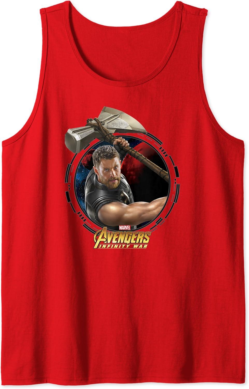 Marvel Infinity War Thor And Stormbreaker Camiseta sin Mangas ...