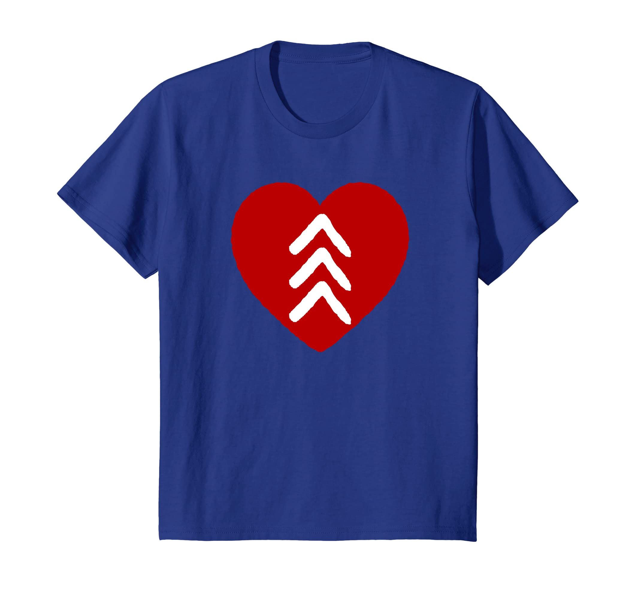 fba7d2d017f0f Amazon.com: Love World Down Syndrome Awareness Day Love 3 Arrows Shirt:  Clothing