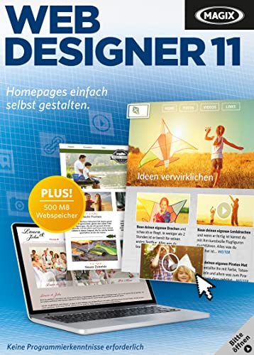 -  MAGIX Web Designer