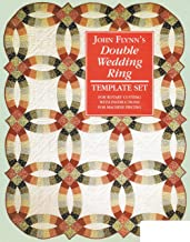 Quilting Template Set Double Wedding Ring 18 inch