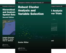 Chapman & Hall/CRC Monographs on Statistics and Applied Probability (51-100) (50 Book Series)