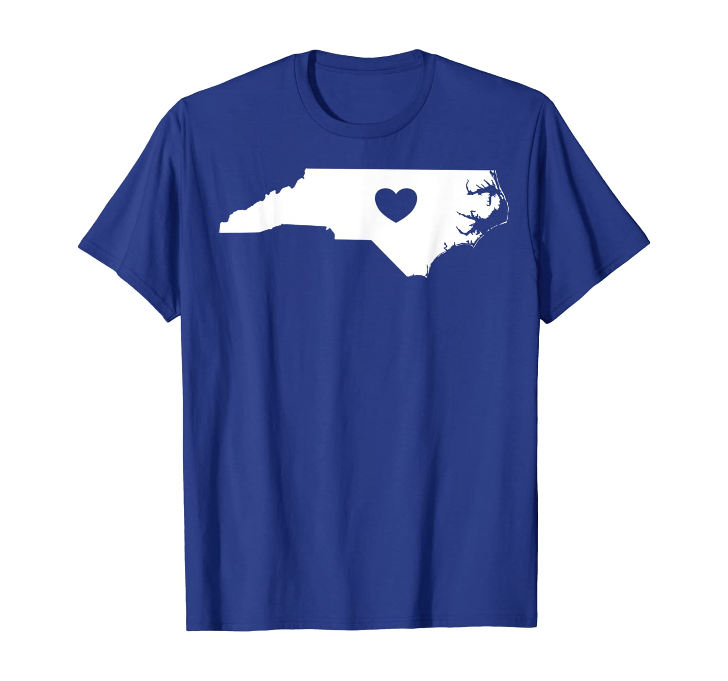 North Carolina Heart State Silhouette T-Shirt