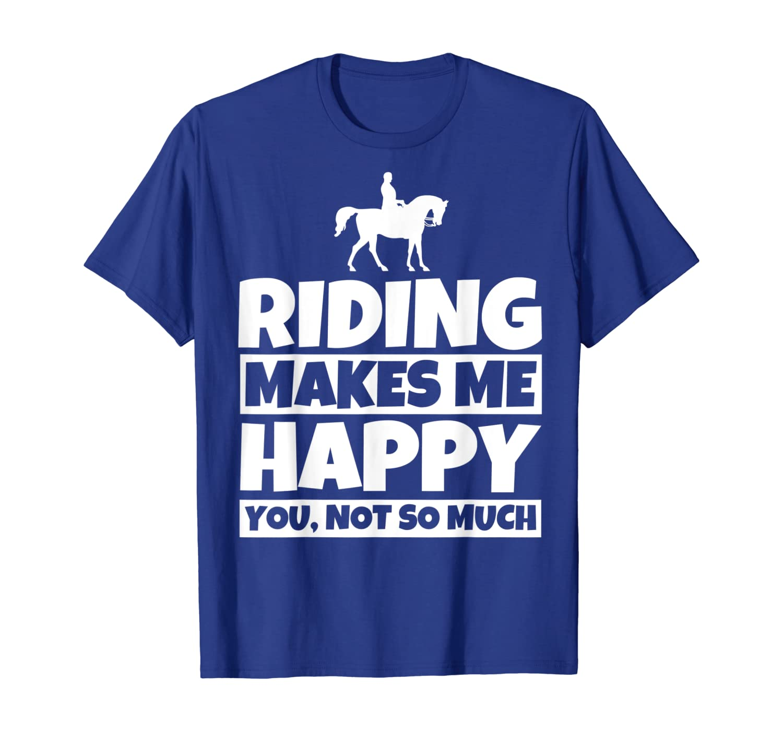 Regali di equitazione Umorismo divertente del cavaliere a Maglietta