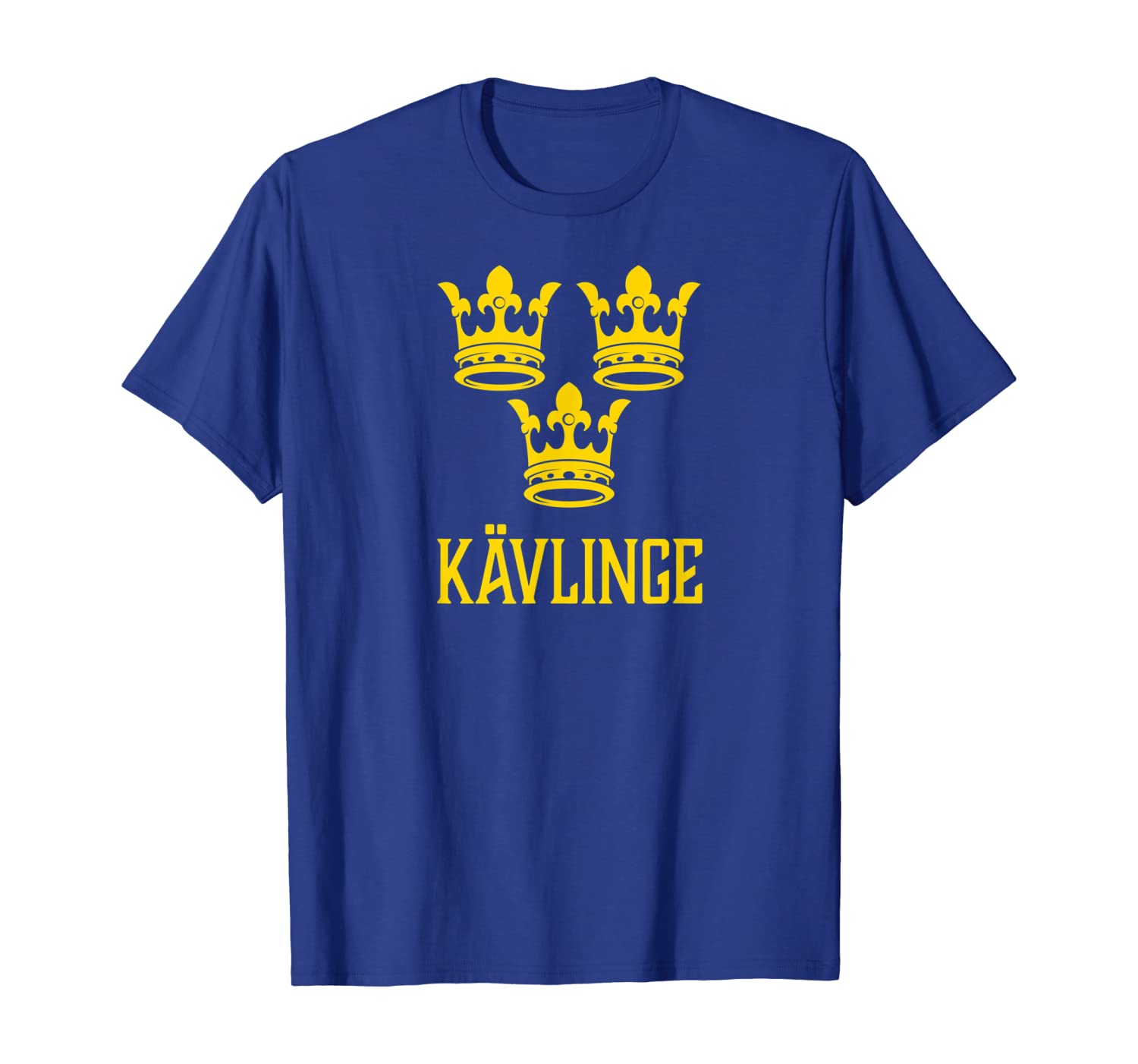 Amazon Com Kavlinge Sweden Swedish Sverige T Shirt Clothing