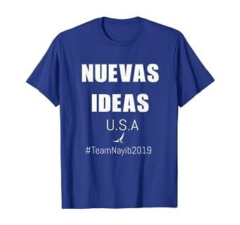 Amazon Com Camisa De Nuevas Ideas Nayib Bukele Clothing
