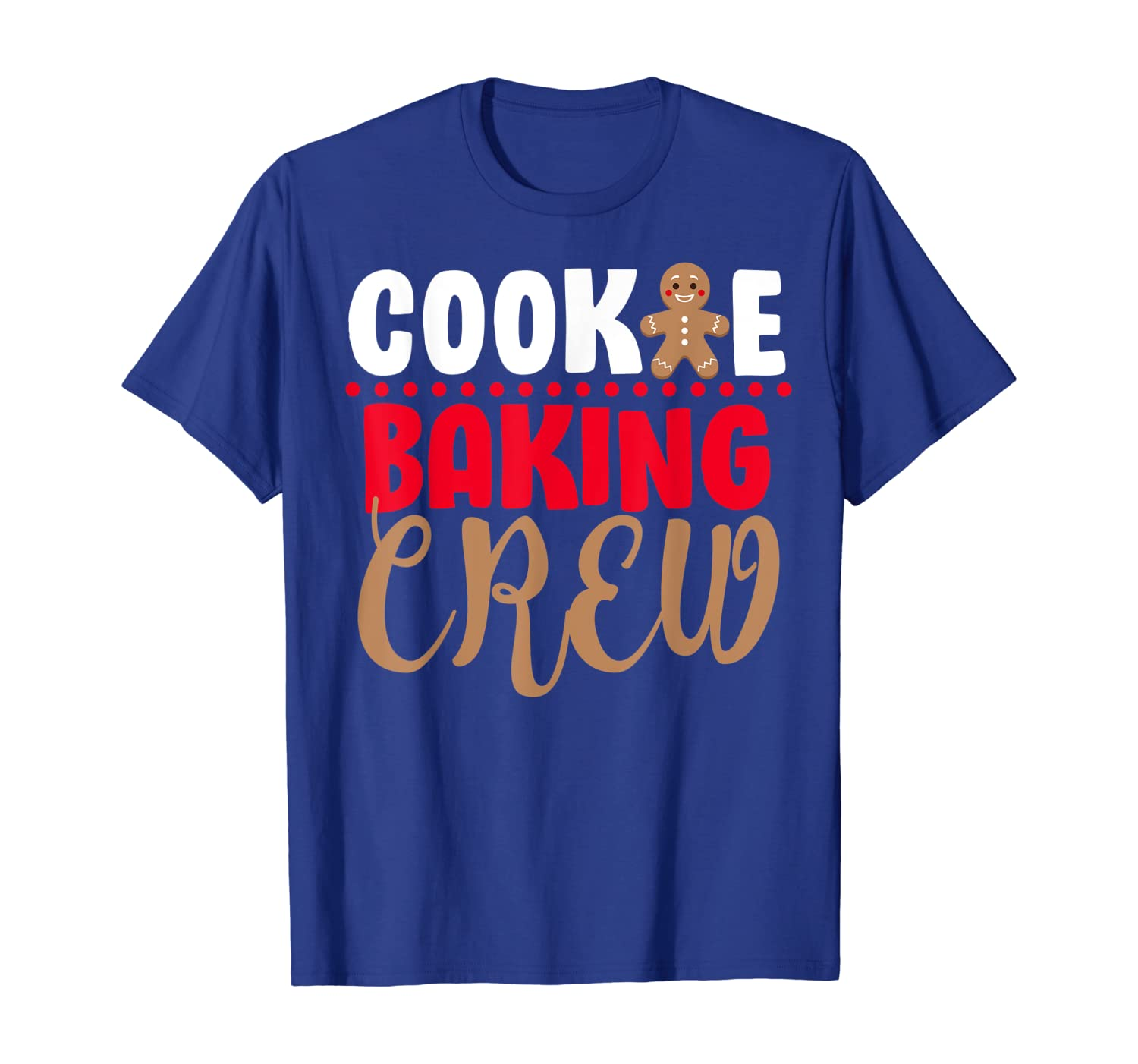 Christmas baking cookies gingerbread funny gift T-Shirt