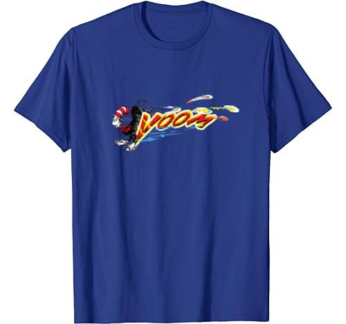 Dr. Seuss The Cat Skates On Shoes T Shirt