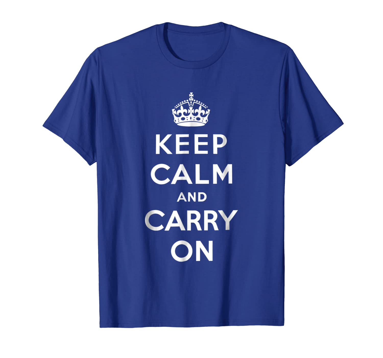 Big Texas Oversized Keep Calm and Carry On T-Shirt-ANZ