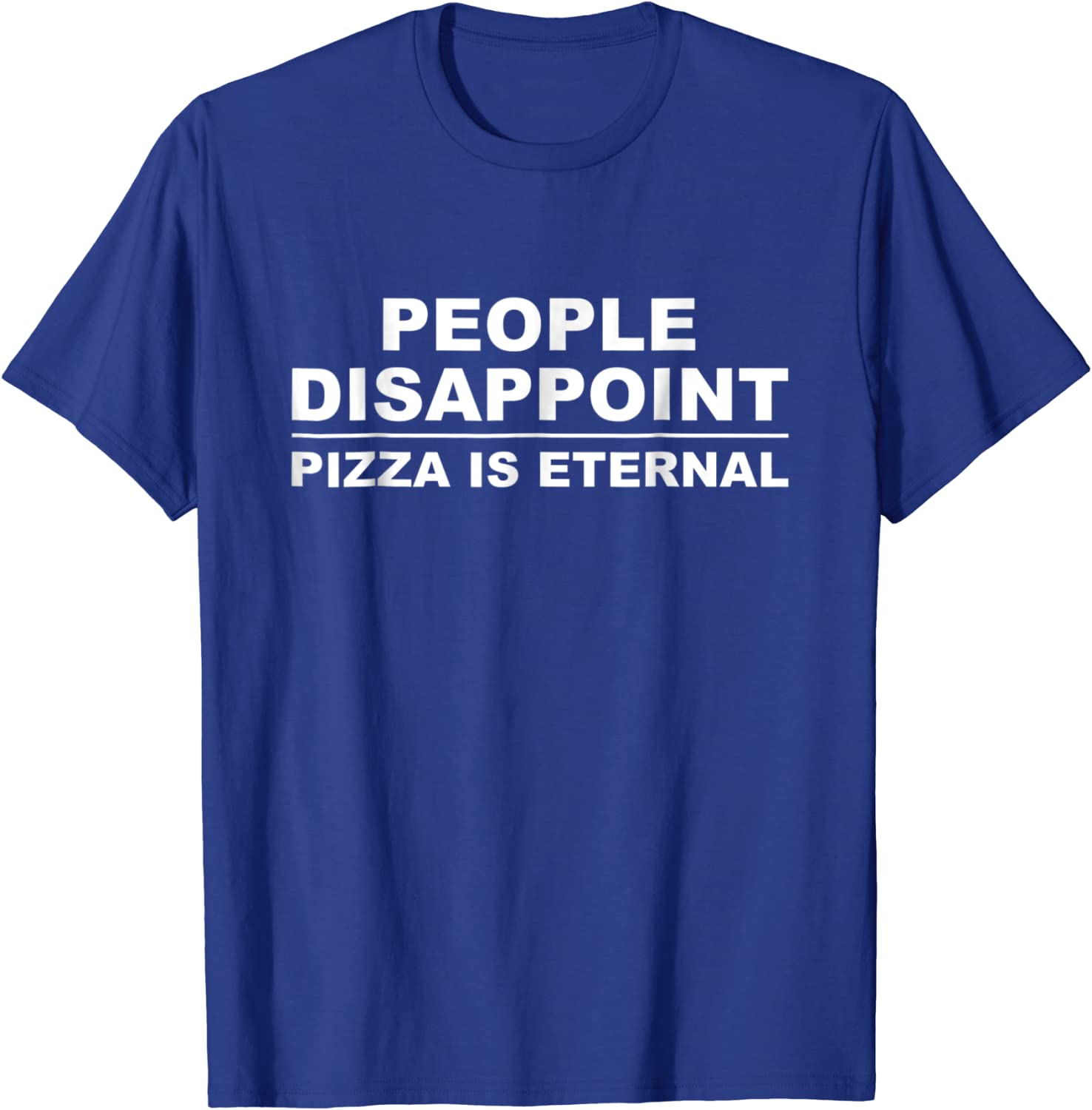 Pizza Is My Drug Of Choice Funny Novelty T-Shirt Mens tee TShirt