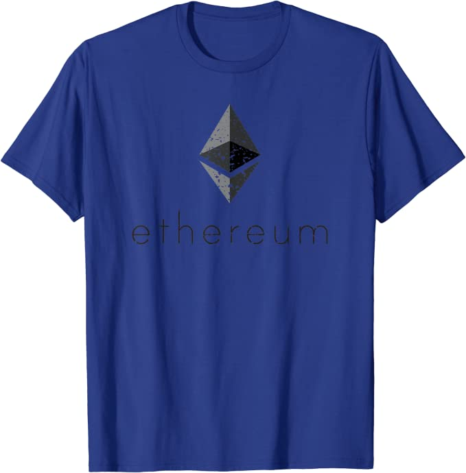 Ethereum Vintage Crypto Cryptocurrency Trading T-Shirt