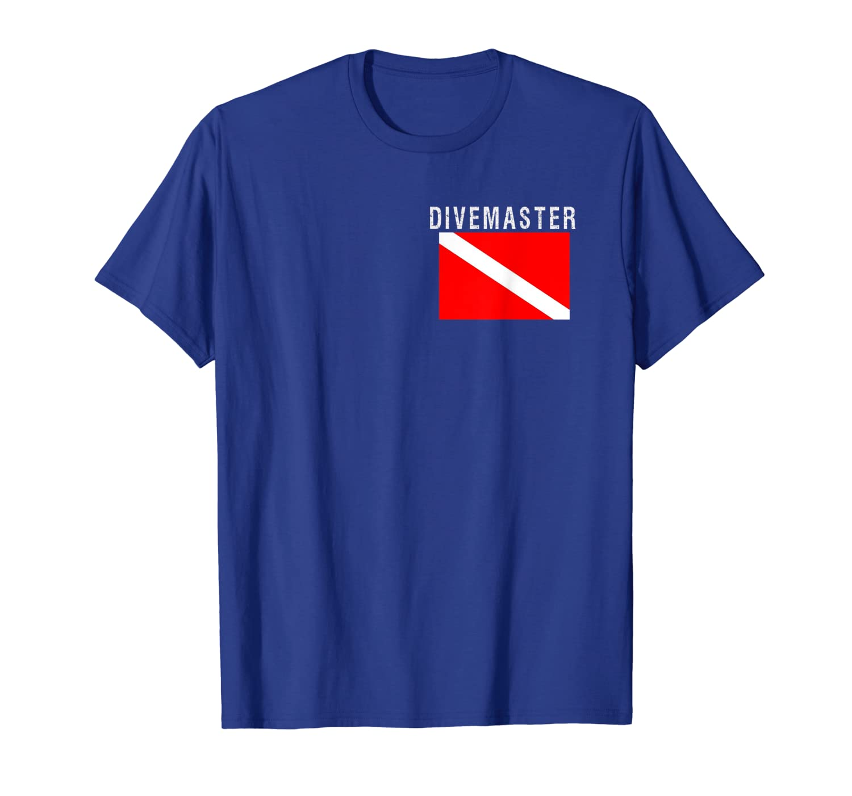 Dive Flag Shirt Divemaster Diver Down Scuba Diving Tshirt Unisex Tshirt