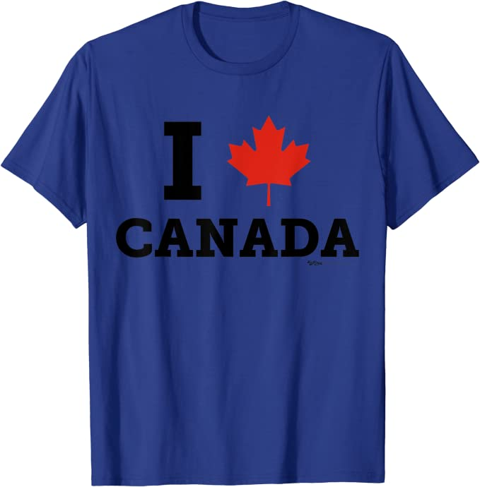 Canada Flag Technical T-Shirt for Men and Women