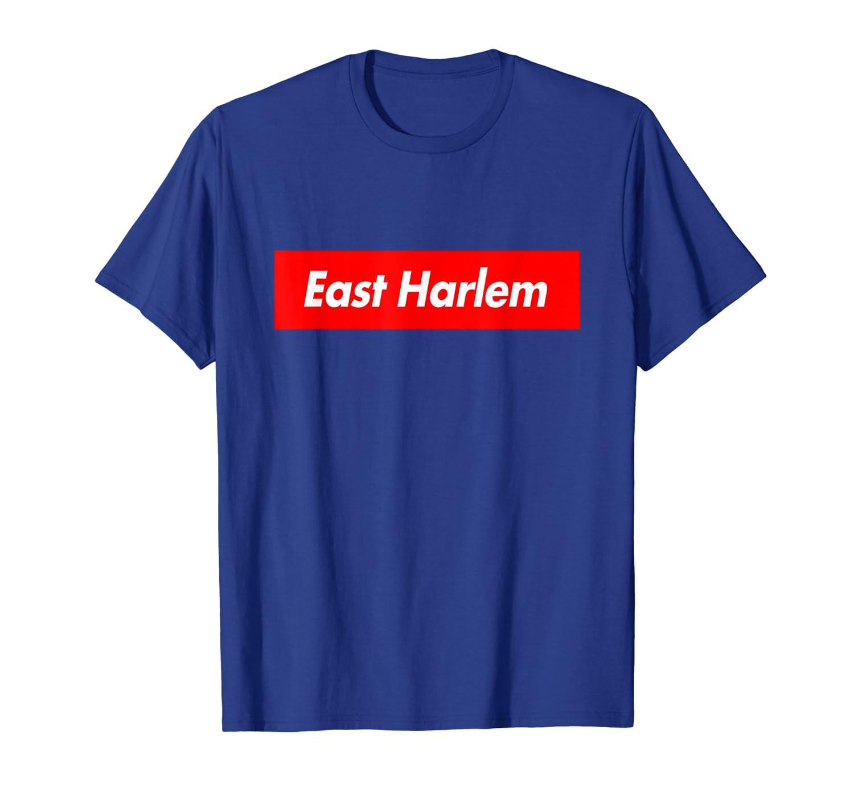 East Harlem Box Logo Souvenir Funny T-Shirt