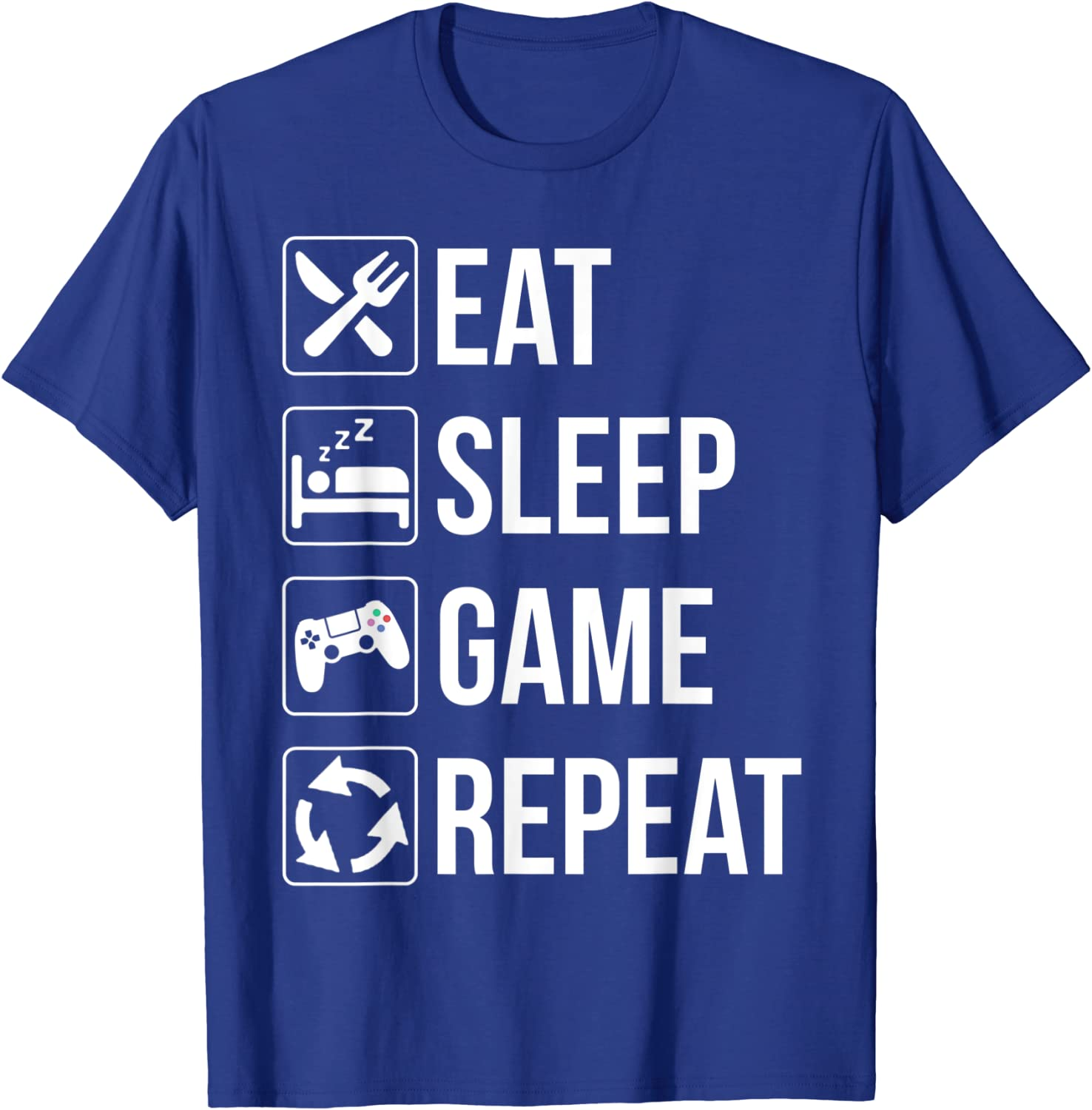 A Day Without Video Games Is Like Family Funny Gamer Gaming T-Shirt