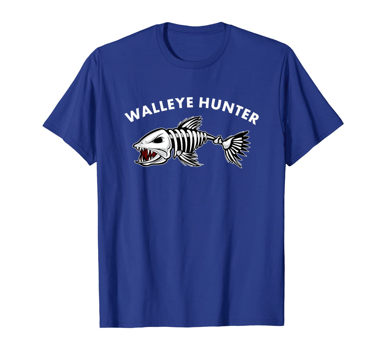 Walleye Hunter Funny Walleye Fishing T-Shirt Fisherman Tee Unisex Tshirt