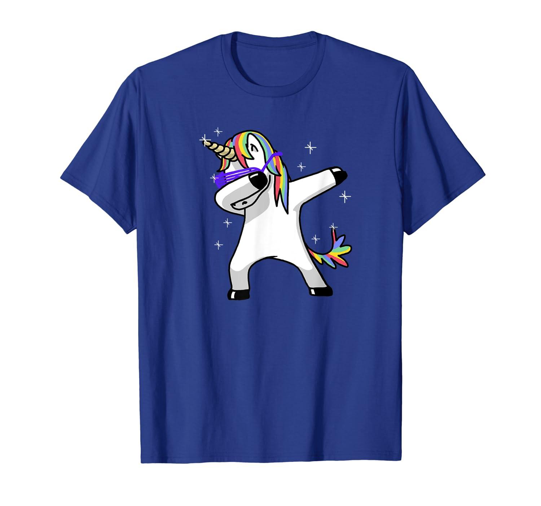 Amazon.com: punzonar unicornio camisa DAB Hip Hop Funny ...