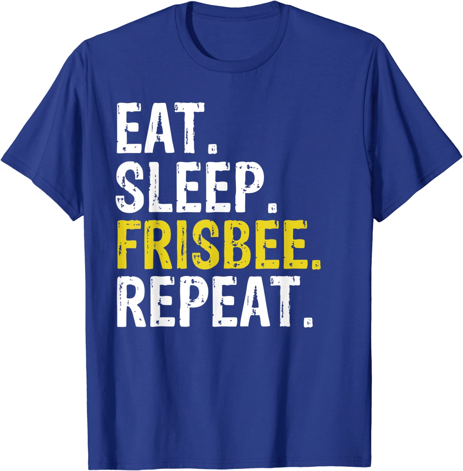 Eat Sleep Ultimate Frisbee Repeat Gift T-Shirt-ANZ