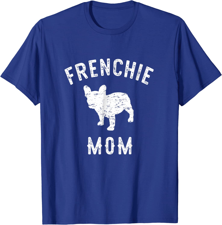 Flower Dog Mama Unisex Tee Gardeners Who Love Dogs Frenchie Mom gift French Bulldog Mama Frenchie T-Shirt Frenchie Lover Frenchie Mom