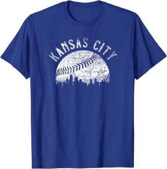 Vintage Kansas City Baseball KC T-Shirt