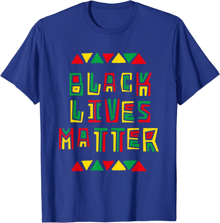 Black Lives Matter Black History Month Vintage T-Shirt
