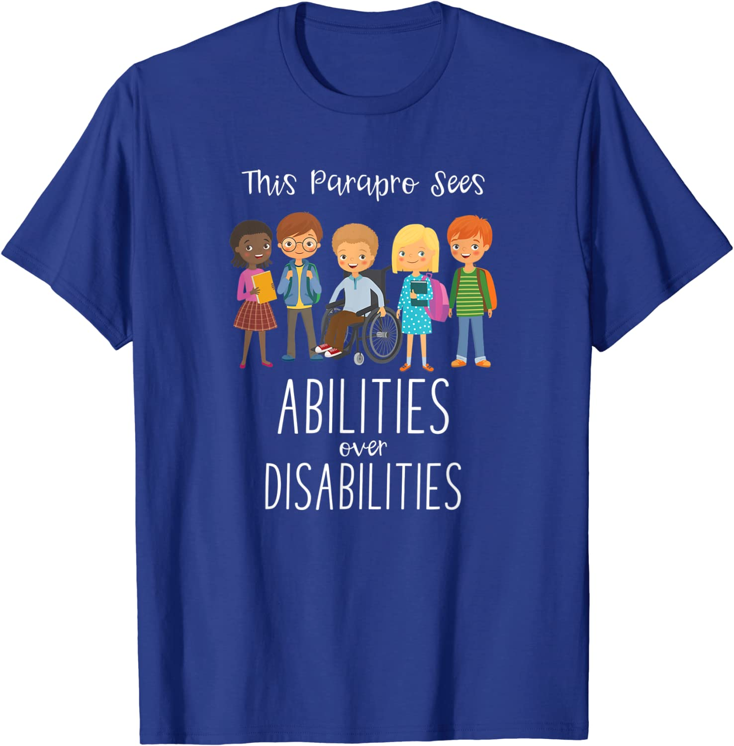 Only Standard Unisex T-shirt Custom Special Education Paraprofessional