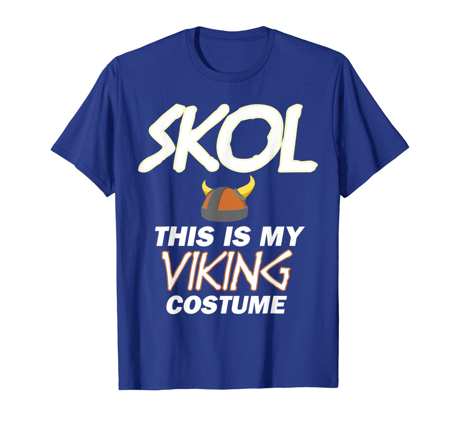 This Is My Viking Skol Helmet Christmas Halloween Costume T-Shirt-TH