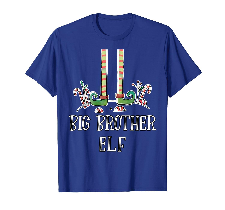 Big Brother Elf Christmas Funny Holiday Santa's Helper T-Shirt