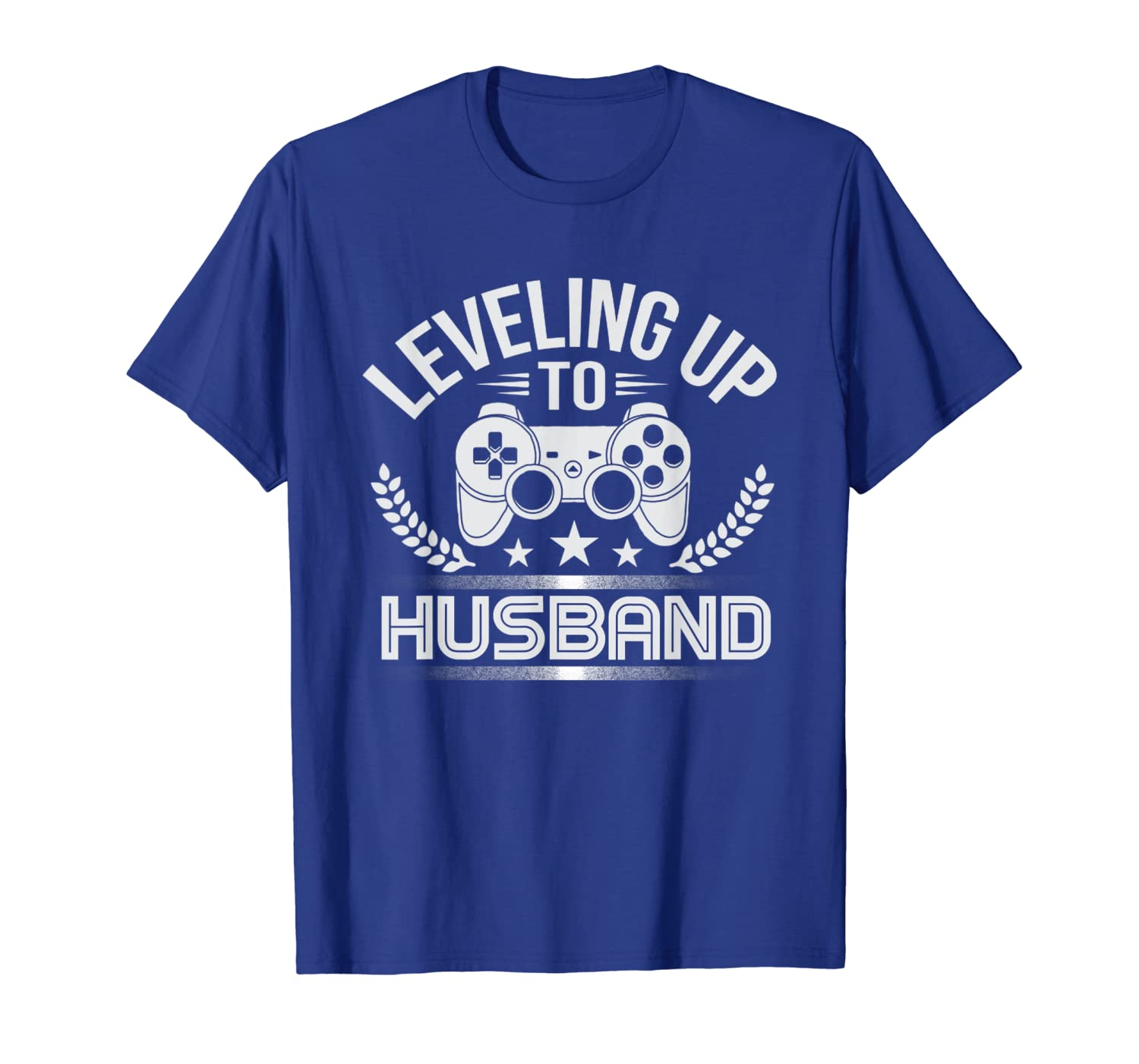 Funny Gamer Leveling Up To Husband For Groom T Shirt-TH