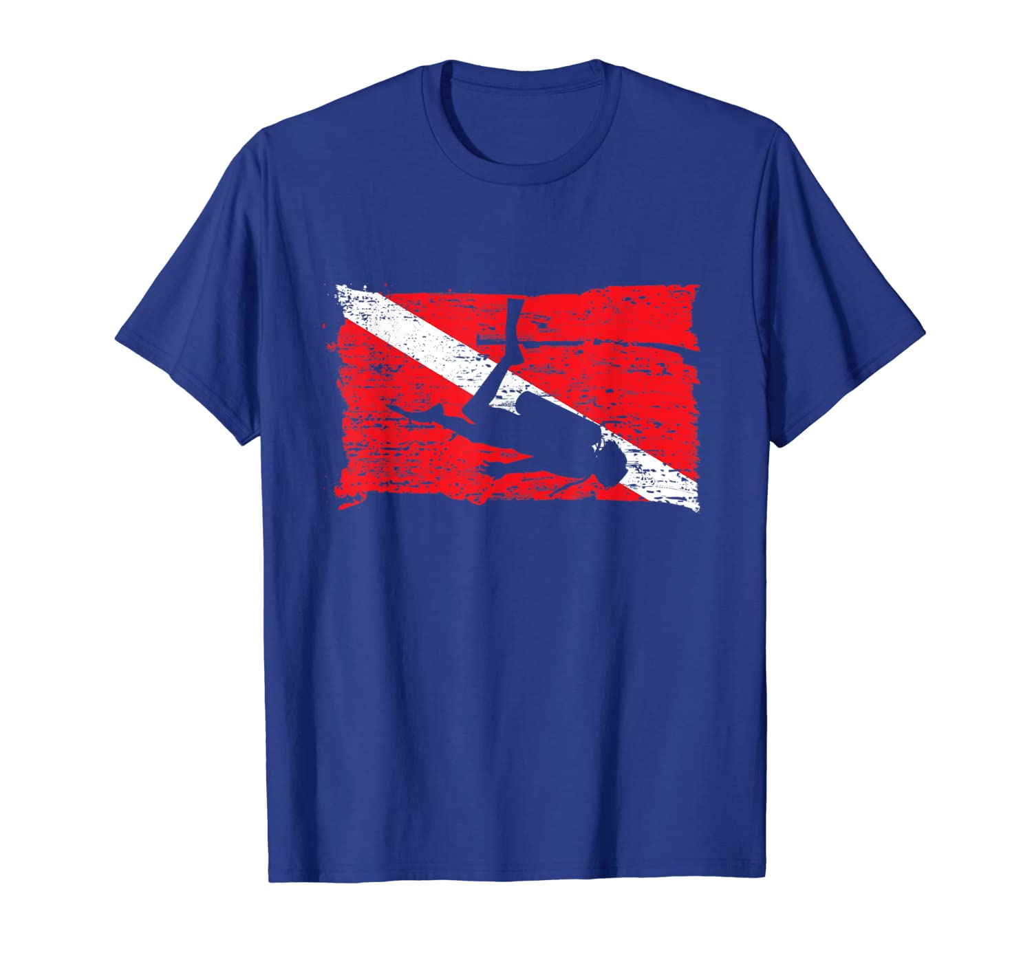 Diving Flag for Scuba Divers who love Dive in the Ocean T-Shirt Unisex Tshirt