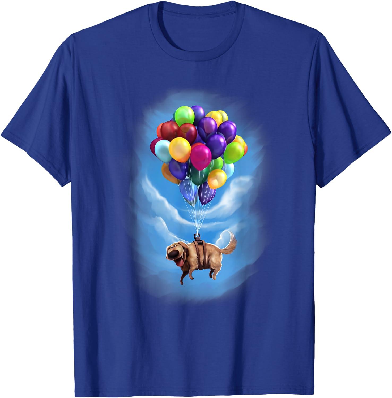Disney Pixar Up Dug Balloon Floating Graphic T-Shirt