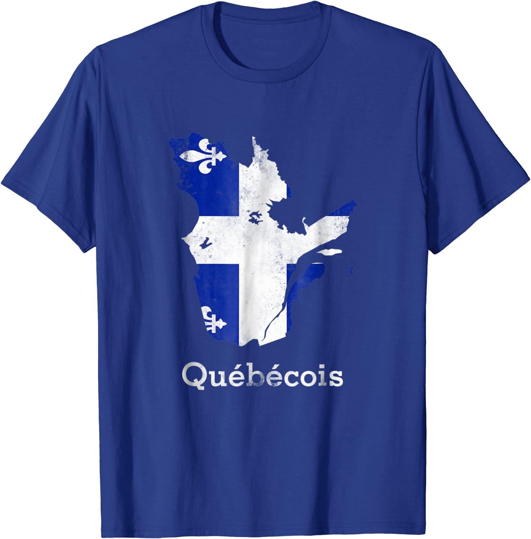 Quebec Fleur de Lys T-Shirt Fleur de Lys Shirt Quebec Tee La Belle  Province T-Shirt  #Apparel