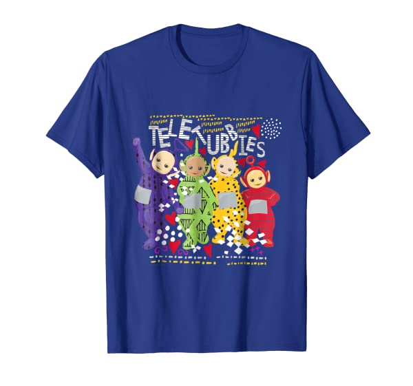 Teletubbies Adult T Shirt - Pattern Overload 3