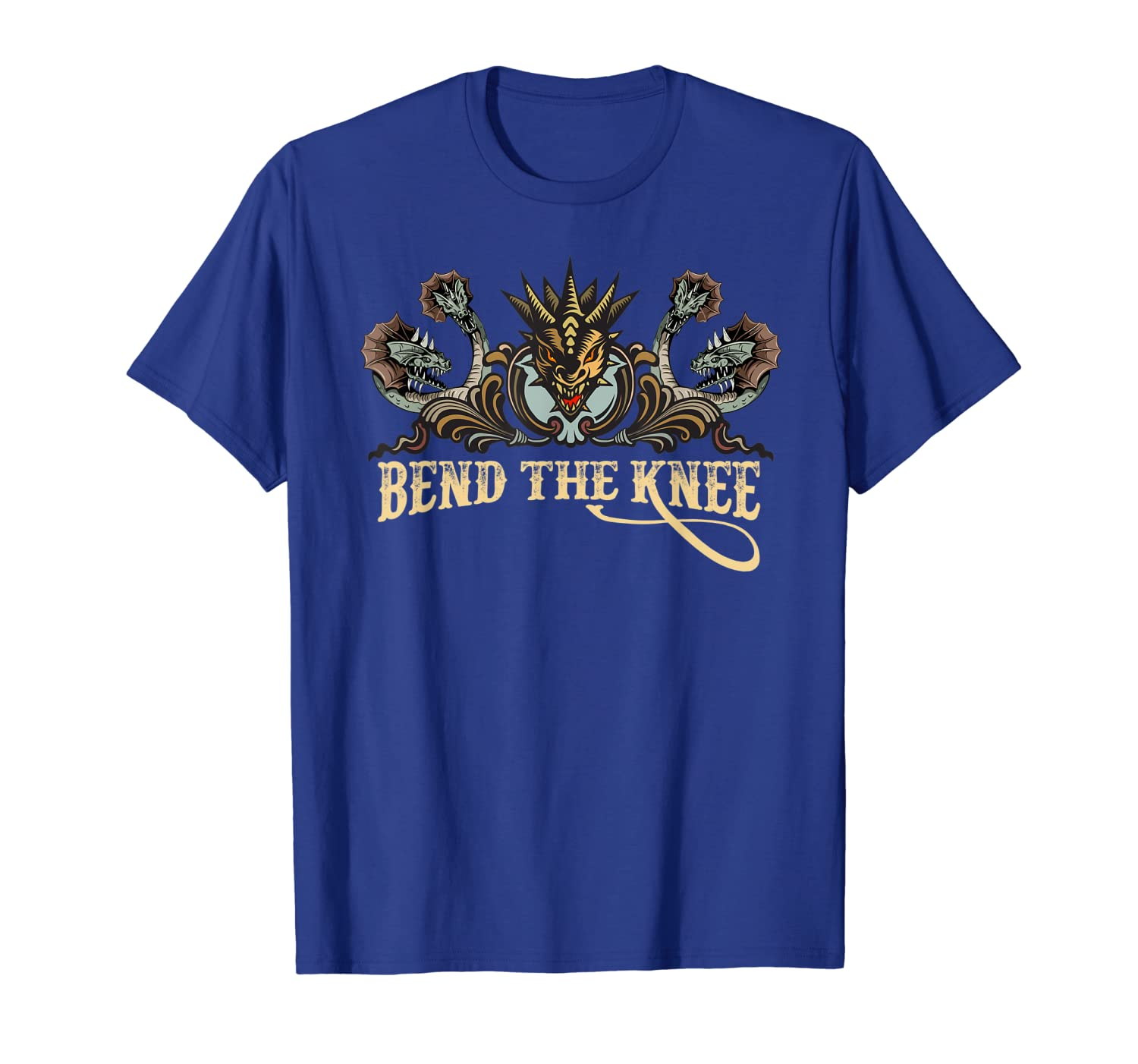 Bend The Knee To the Mother Dragon Queen Cosplay T-shirts-TH