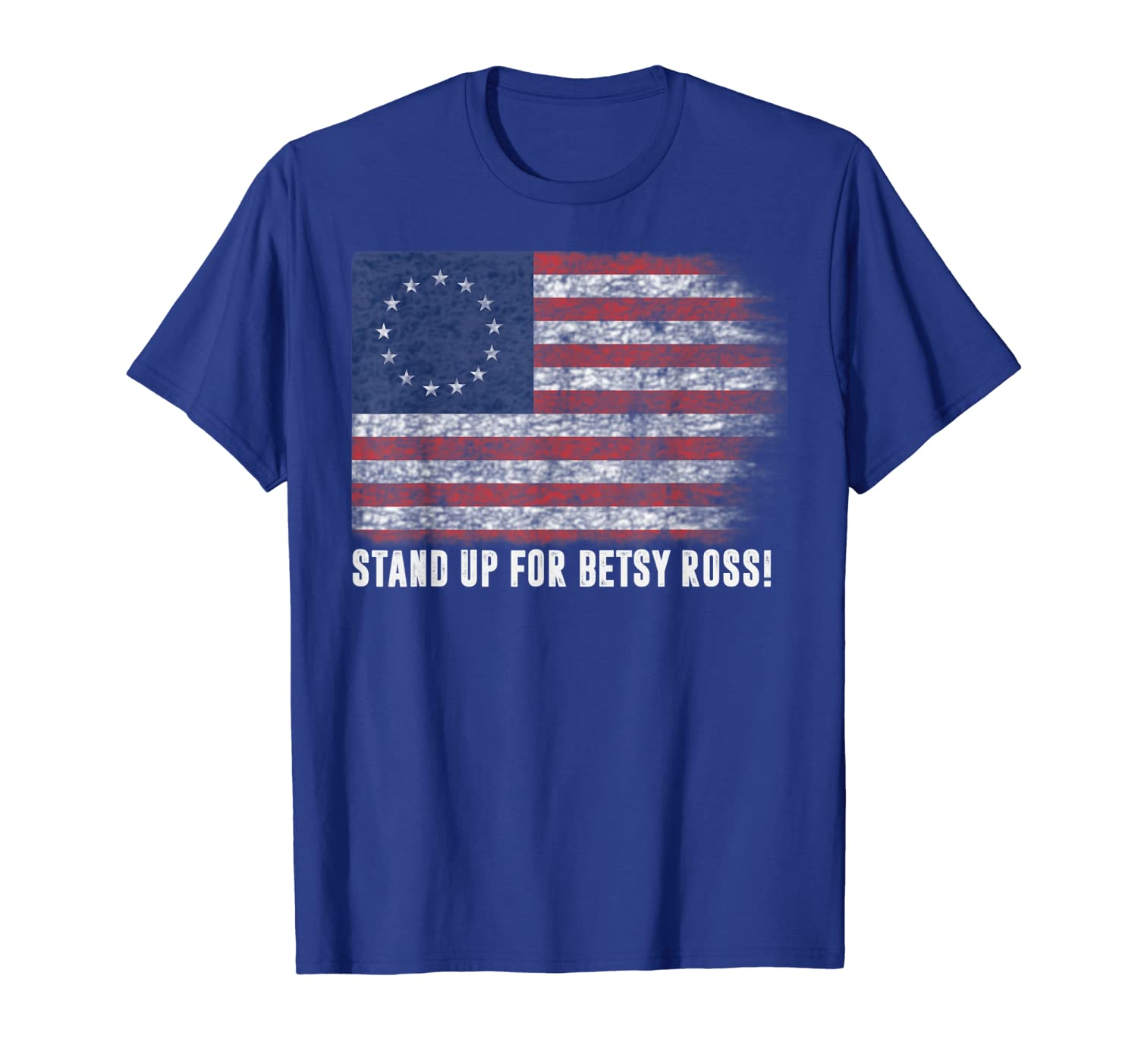 Patriotic 1776 Tee Respect the Flag Stand up for Betsy Ross T-Shirt-TH