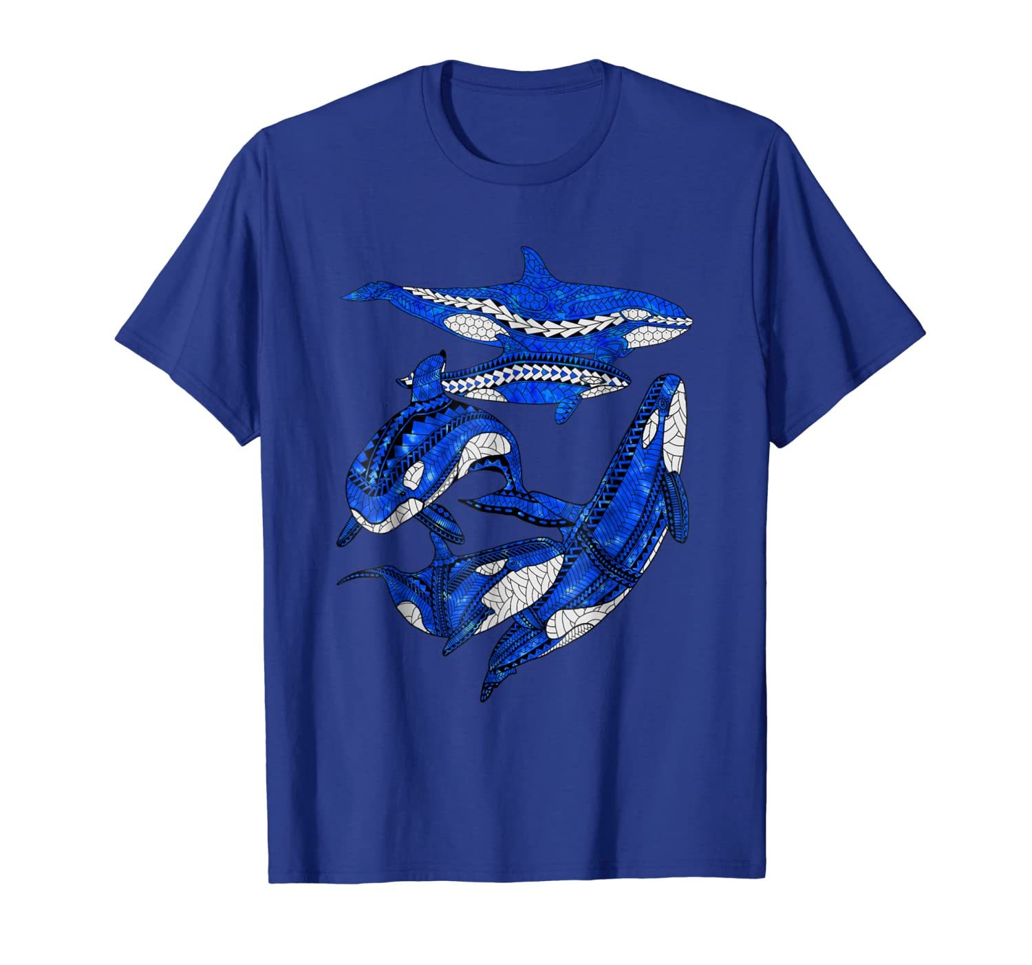 A Pod of Orca Whales T-Shirt-ANZ