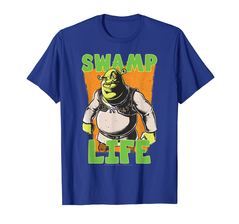 Shrek Cartoon Swamp Life T-Shirt-ANZ