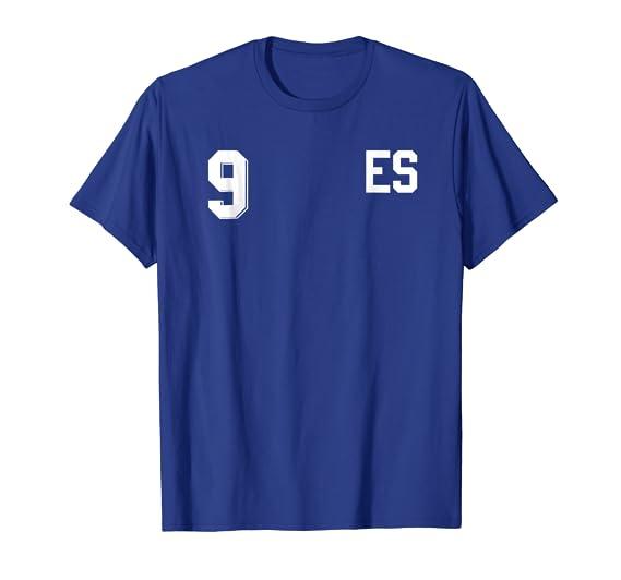 Amazon.com: Retro El Salvador Soccer Jersey Camiseta de Futbol Home 10: Clothing