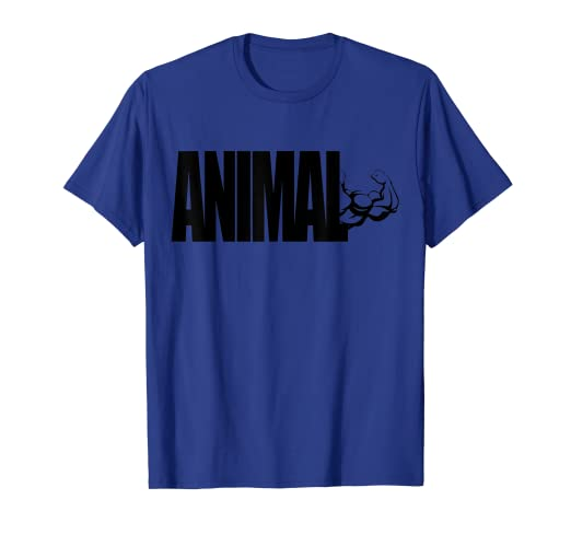 fff1b94fcddf Amazon.com: C544 ANIMAL Gym T Shirt Workout MMA Fitness Motivation Tee:  Clothing