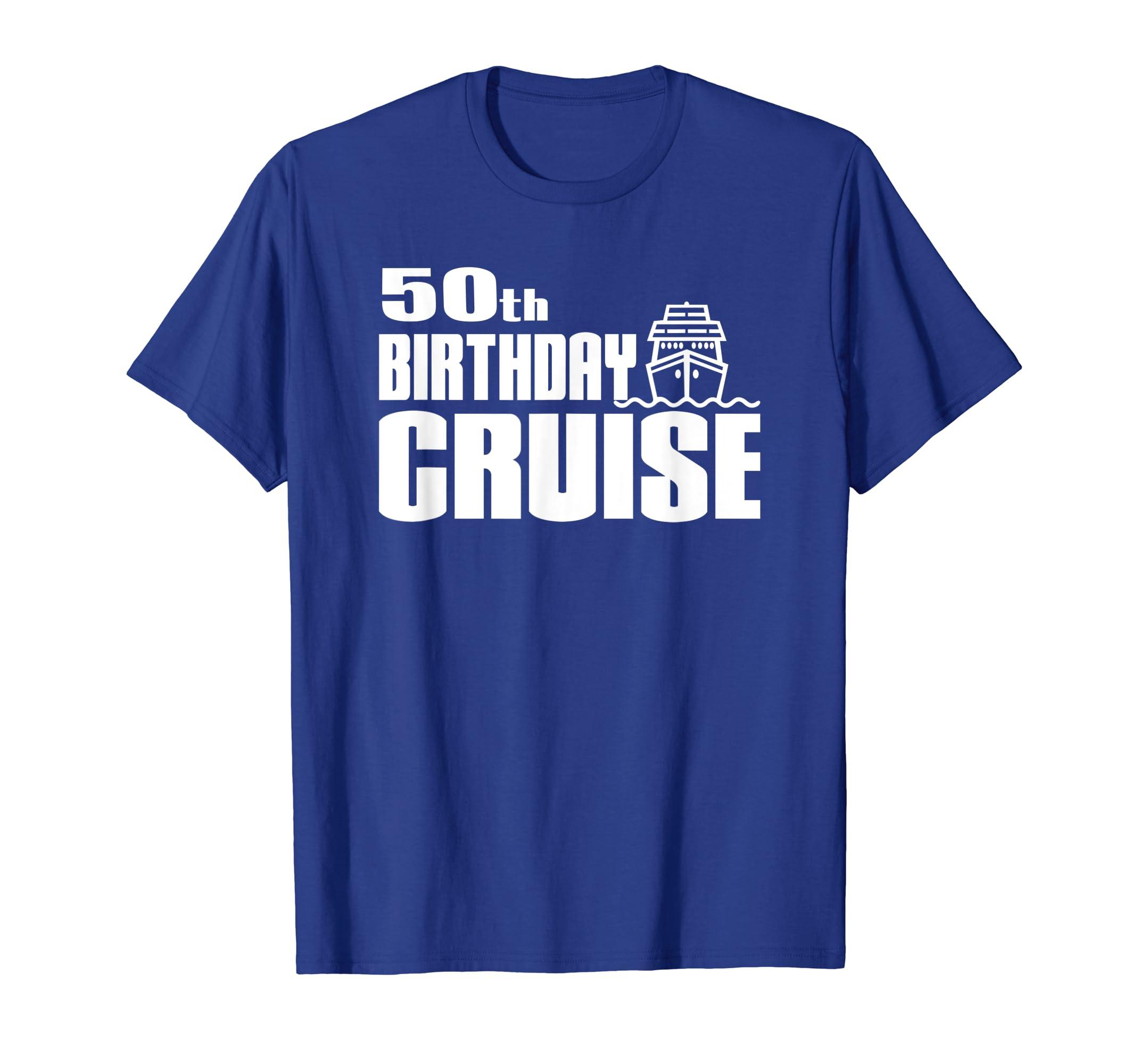 50th Birthday Cruise Ship Celebration Party Shirt