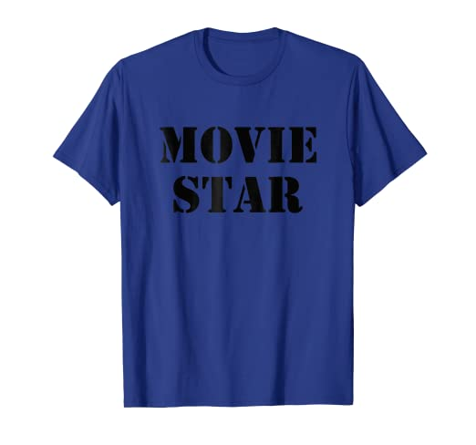 2535a9ff1c0 Amazon.com: Movie Star Actor Actress Acting T-shirt Men Women Kids Child:  Clothing